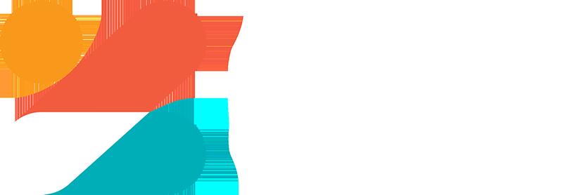 zip logo white